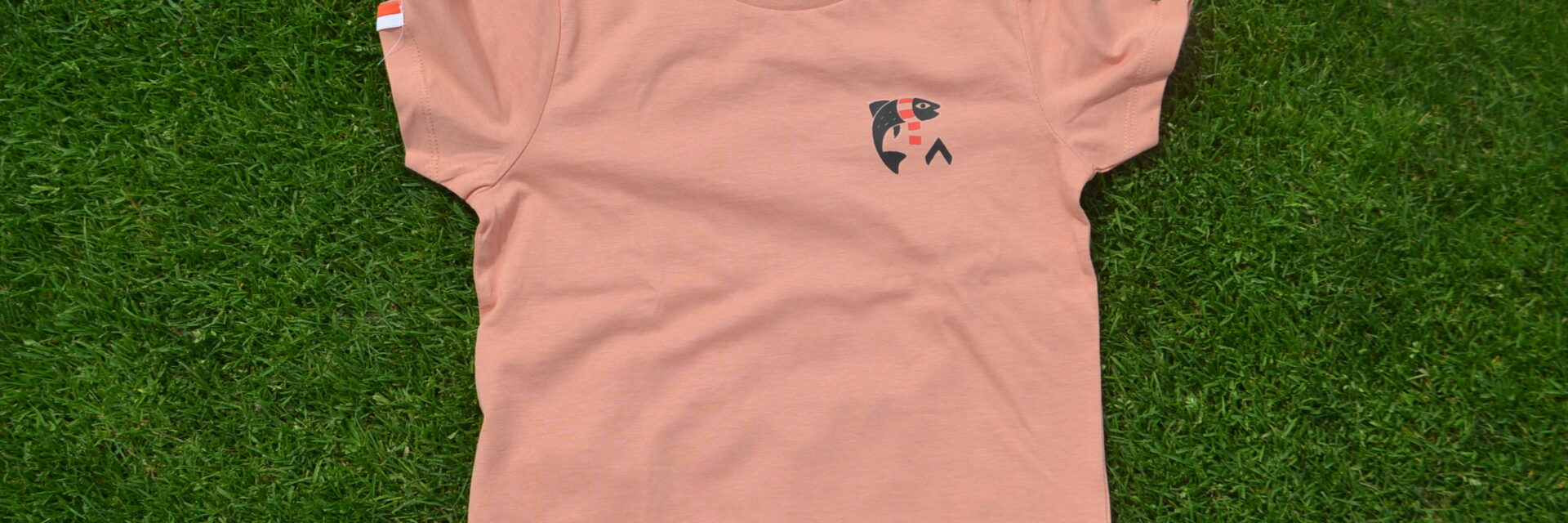Shirt Vis in de leie Kids Rood