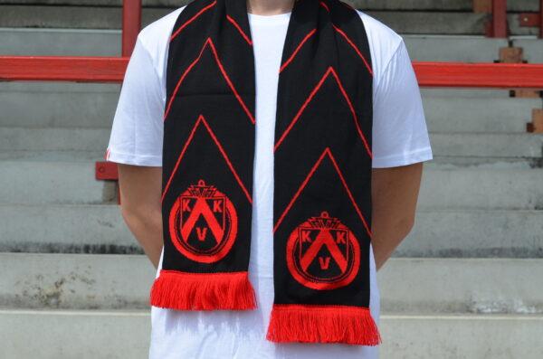 Zwart-rode sjaal