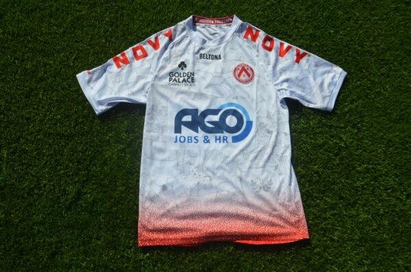 KVKortrijk Awayshirt Front